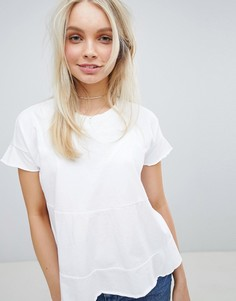 Ярусная футболка Jack Wills - Белый