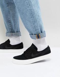 Черные кроссовки Nike SB Zoom Stefan Janoski HT AA4276-001 - Черный