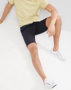 Шорты с поясом на шнурке Produkt - Темно-синий