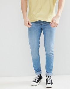 Синие джинсы скинни Saints Row - Синий