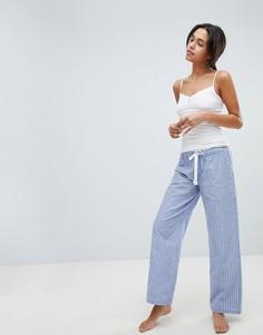 Пижама из топа и штанов Boux Avenue Prairie - Синий