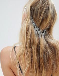 Цепочка на голову с подвесками ASOS DESIGN - Серебряный