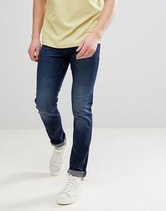 Темные джинсы слим Blend - Синий