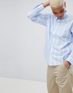 Рубашка в полоску с вышитым логотипом Carhartt WIP - Мульти