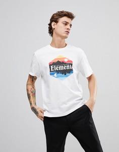 Белая футболка Element Dusk - Белый