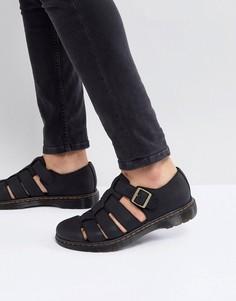 Черные сандалии Dr Martens Revive Fenton - Черный