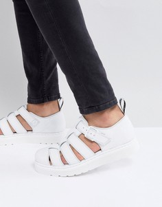 Белые сандалии Dr.Martens Vibal - Белый