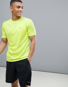 Ярко-лаймовая беговая футболка с короткими рукавами Marmot Active Windridge - Желтый