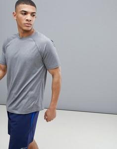 Серая футболка с рукавами реглан Marmot - Серый