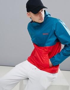 Водонепроницаемая куртка с капюшоном (зеленый/красный) Marmot PreCip - Синий