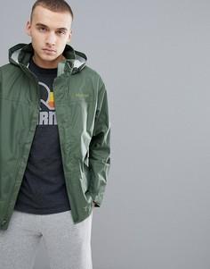 Непромокаемая куртка хаки с капюшоном Marmot PreCip - Зеленый