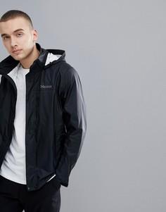 Черная непромокаемая куртка с капюшоном Marmot PreCip - Черный