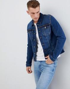 Эластичная джинсовая куртка Blend - Черный