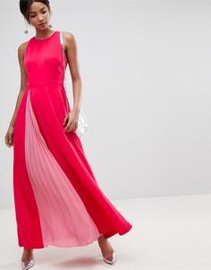 Платье макси Ted Baker - Розовый