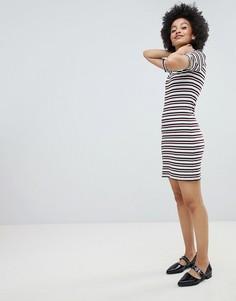 Полосатое платье Monki - Мульти