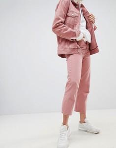 Укороченные джинсы в винтажном стиле Weekday Voyage - Розовый
