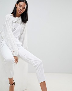 Джинсовый комбинезон Pepe Jeans - Белый