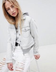 Укороченная джинсовая куртка Dr Denim - Белый