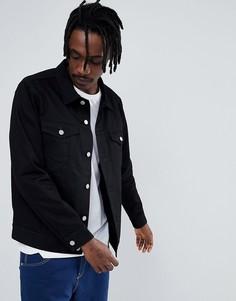 Черная куртка Weekday Single - Черный