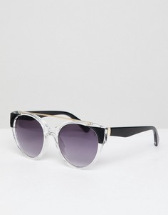 Прозрачные солнцезащитные очки с градиентными стеклами AJ Morgan - Серый
