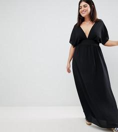 Пляжное платье макси Boohoo Plus - Черный