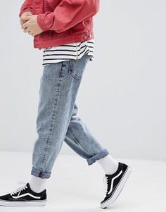 Свободные светлые джинсы ASOS - Синий