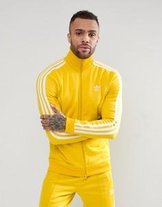 Желтая спортивная куртка adidas Originals adicolor Beckenbauer CW1254 - Желтый