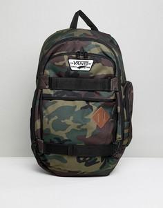 Рюкзак с камуфляжным принтом Vans Transient III - Зеленый