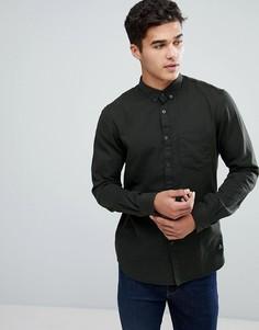 Рубашка цвета хаки Tom Tailor - Зеленый