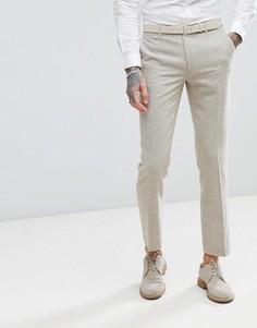 Облегающие брюки из донегаля Harry Brown - Рыжий