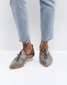 Обувь на плоской подошве Free People St Lucia - Коричневый