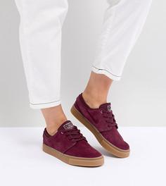 Бордовые кроссовки Nike Sb Zoom Janoski - Красный