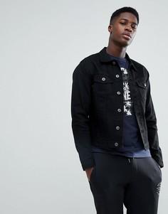 Джинсовая куртка узкого кроя Jack & Jones Intelligence - Черный