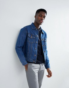 Джинсовая куртка узкого кроя Jack & Jones Intelligence - Синий