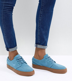 Синие кроссовки Nike Sb Zoom Stefan Janoski - Синий