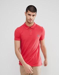 Поло красного цвета узкого кроя с логотипом PS Paul Smith - Красный