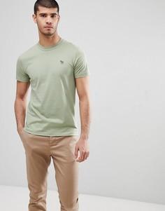 Зеленая облегающая футболка с логотипом PS Paul Smith - Зеленый