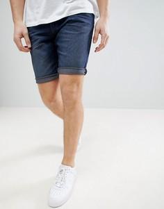 Узкие джинсовые шорты Tom Tailor - Синий