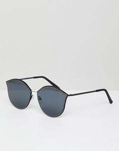 Черные солнцезащитные очки кошачий глаз Jeepers Peepers - Черный