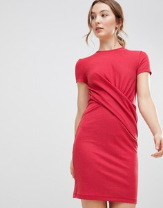 Платье с запахом mByM - Розовый