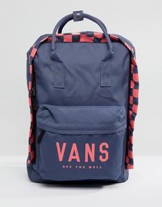 Квадратный рюкзак Vans Icono - Темно-синий