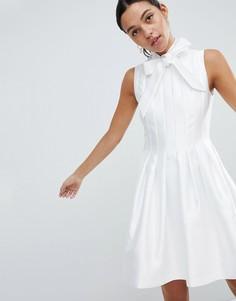 Структурированное платье Ted Baker Doora - Белый