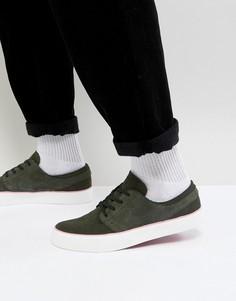 Зеленые кроссовки Nike SB Zoom Stefan Janoski HT AA4276-300 - Зеленый