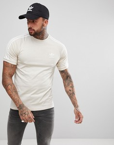 Бежевая футболка adidas Originals adicolor California CZ4547 - Бежевый