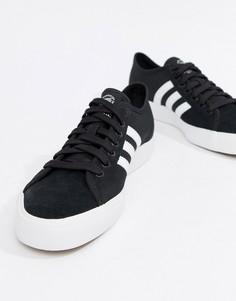 Черные кроссовки adidas Skateboarding Matchcourt RX BY3201 - Черный