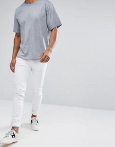 Белые джинсы скинни Cheap Monday - Белый