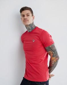 Красная футболка с принтом логотипа PS Paul Smith - Красный
