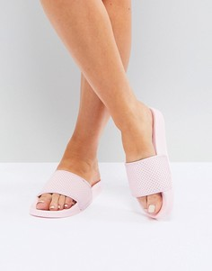 Розовые сандалии с перфорацией Slydes - Розовый