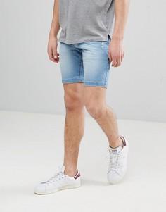 Синие джинсовые шорты Lindbergh - Синий