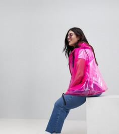 Куртка-дождевик ASOS DESIGN Curve - Розовый